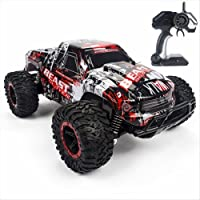 HONGJING RC Car 1:16 2.4G High Speed Racing Cars Beast Radio Control Monster Truck Rock Off-Road Vehicle Buggy Hobby Electronic Game Toys Mode For Child