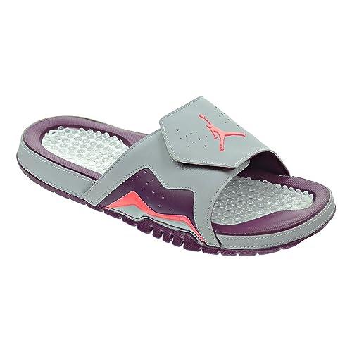 ac2ce60ae75d5 Jordan Hydro VII Retro Men s Sandals Wolf Grey Infrared 23 Bordeaux  705467-025