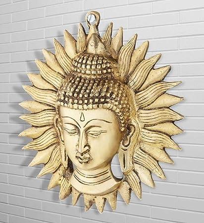 Buy Aone India Buddha Sun Mask Wall Hanging 7\