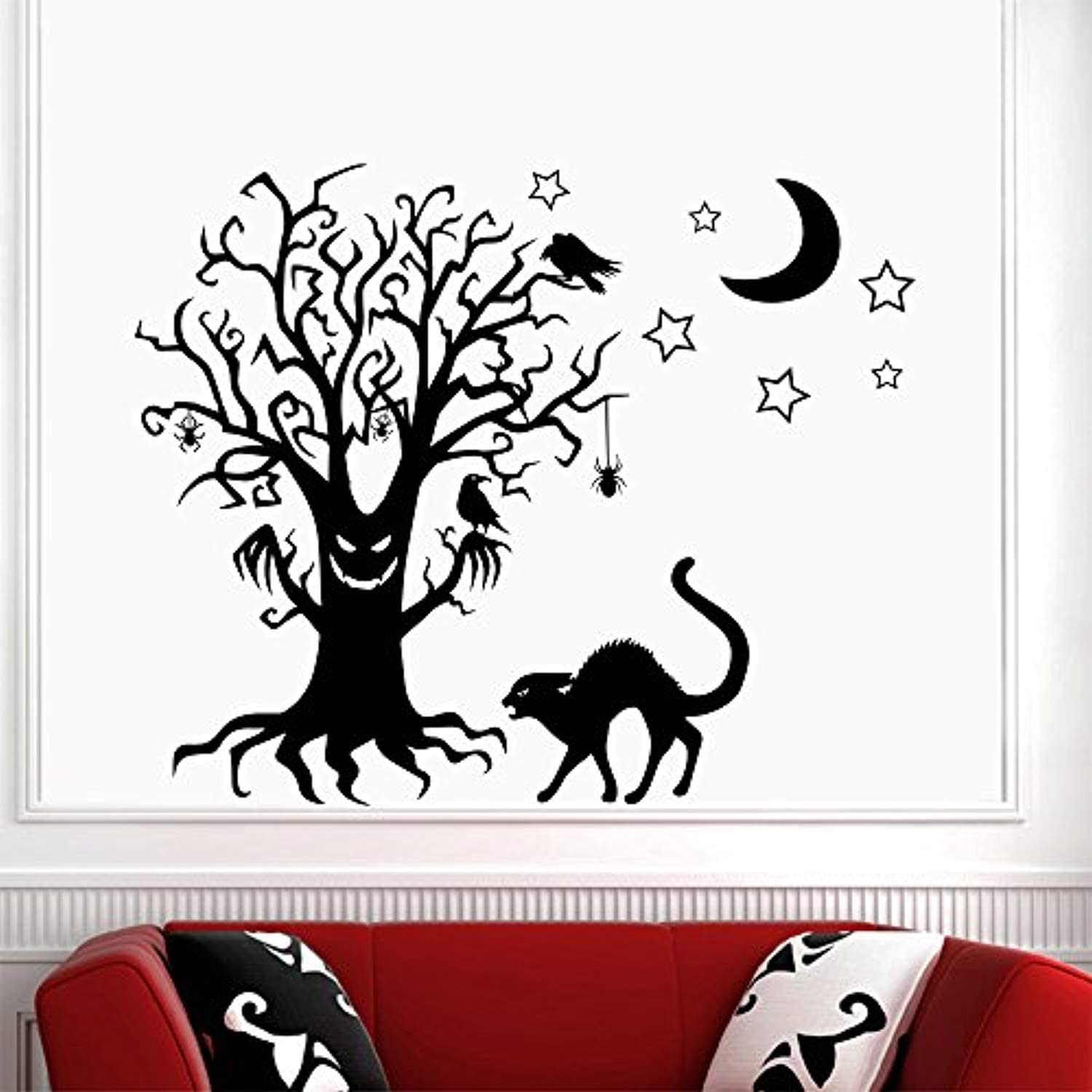 Highest Quality Wall Decal Sticker Cats on the Moon