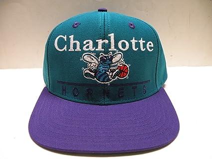 bd166f5344c Amazon.com   adidas NBA Charlotte Hornets Block Script Teal 2 Tone ...