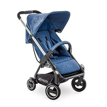 Hauck Micro - silla de paseo moderno y compacta, respaldo reclinable, plegable con una sola mano, ligera, chasis de aluminio, manillar regulable, ...