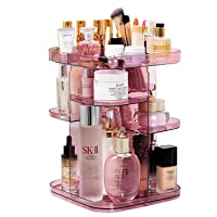 Deals on Raniaco 360 Rotating Makeup Organizer Countertop