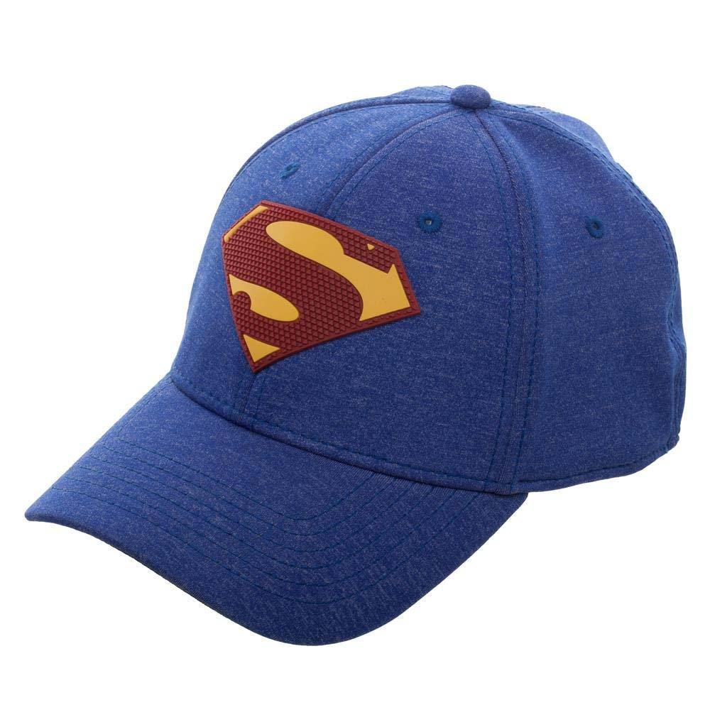 56b5c59fb9f Amazon.com  Superman New 52 Flex Fit Hat