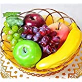 JKing Artificial Plastic Realistic Looking 6 Mixed Fruits Simulation Plastic Decorative Fruits Display Creative Home Decor/Teaching /Photography Props