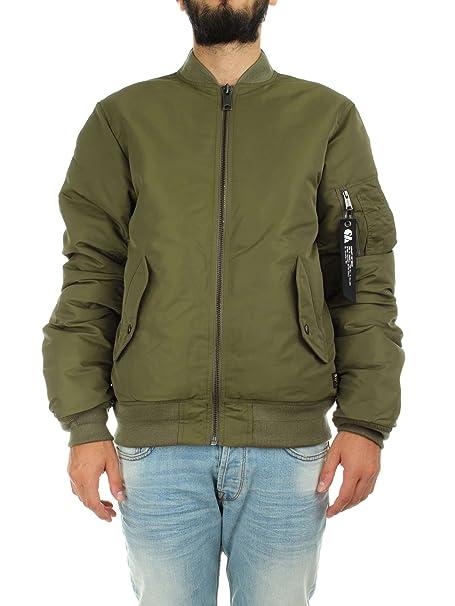 Carhartt Ashton Bomber Jacket-Chaqueta Hombre verde verde 20: Amazon.es: Ropa y accesorios