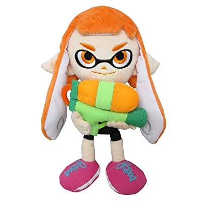 "Little Buddy USA 1467 Splatoon Female Inkling Plush, 9"": Toys & Games"