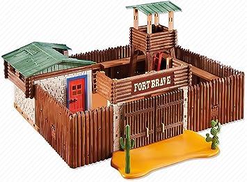 PLAYMOBIL 6427 FUERTE DEL OESTE - EMBALADO EN CAJA MARRON POR EL FABRICANTE: Amazon.es: Juguetes y juegos