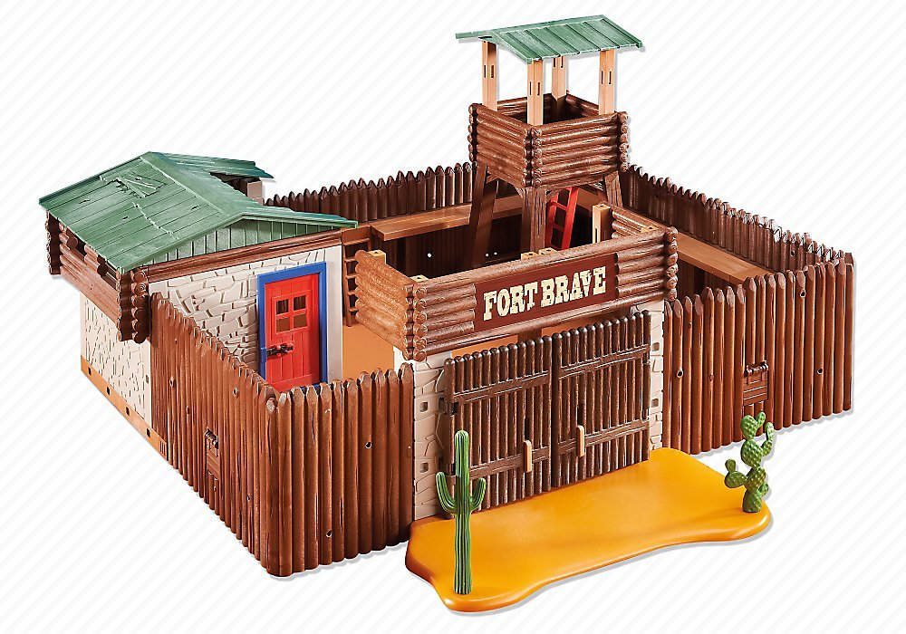 Playmobil Western Fort 6427 Amazon Toys Games
