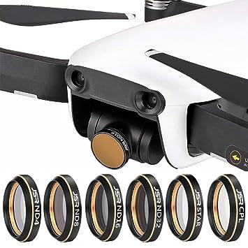para Gopro dji Accesorios 6 en 1 HD Drone Efecto de la Estrella + ...