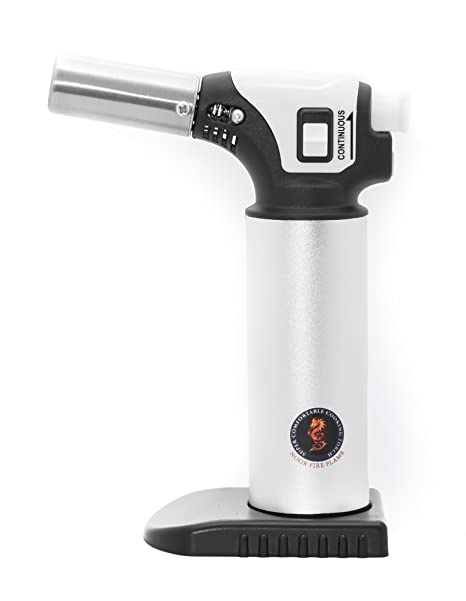 cooking torch crme brle blow torch with safety lock handheld food torch - Kitchen Blowtorch