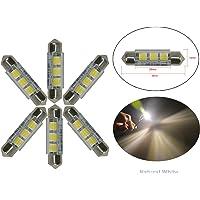 njytouch 6pcs 43mm 44mm 3SMD LED 5050211coche naturaleza