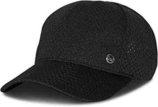 product image for Mitscoots Outfitters Black Low Profile Moisture Wicking Performance Hat