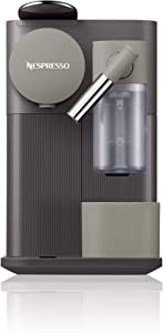 Nespresso by De'Longhi EN500DR Lattissima One Original Espresso Machine with Milk Frotherby De'Longhi, Dark Roast