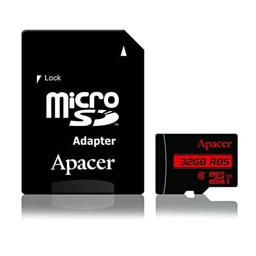 Memory Card - microSD HC -UHS-I Class10 32GB with SD Adapter – Suitable for Camera , Computers