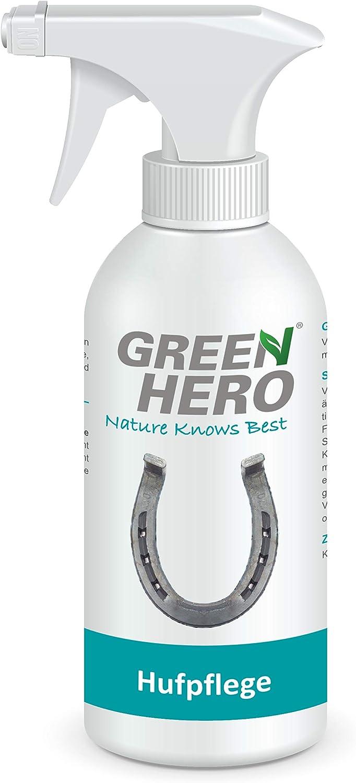 Green Hero Cuidado para Caballos, 500ML, Cuida los Herradura y Inyección en la Putrefacción, mauke Herradura y Piel Lesiones, Inyección Cuidado Inyección, Spray, Aerosol Herradura