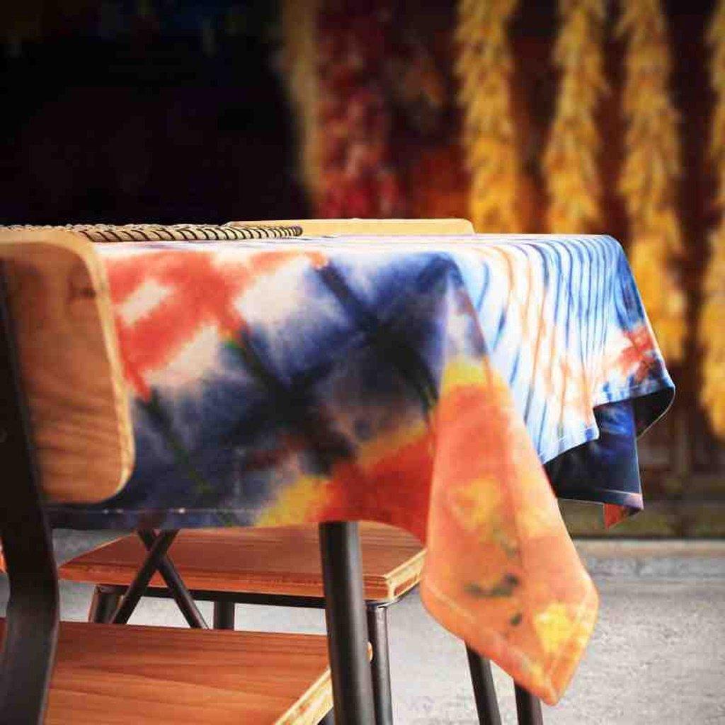 L&Y Tableware Büro Hotel Tischdecken Büro Tableware Hotel Rechteckige Pastoralen Tischdecken Lässig Esstischdecken Kunst Tapeten Größe 140  140 cm (Farbe   Rosa) f963da