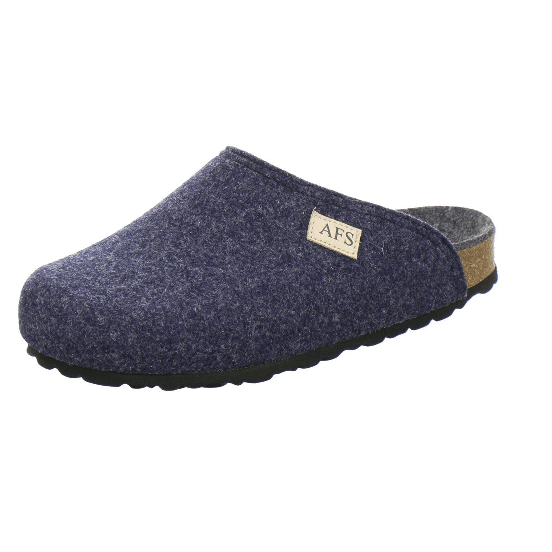 AFS Schuhe 26910 Filz Hausschuhe Damen, Bequeme, warme Winter Pantoffeln