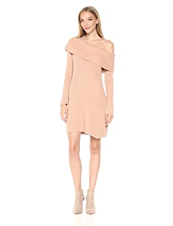 6613f06b62b Somedays Lovin Women s Like A Melody Off The Shoulder Sweater Dress ...