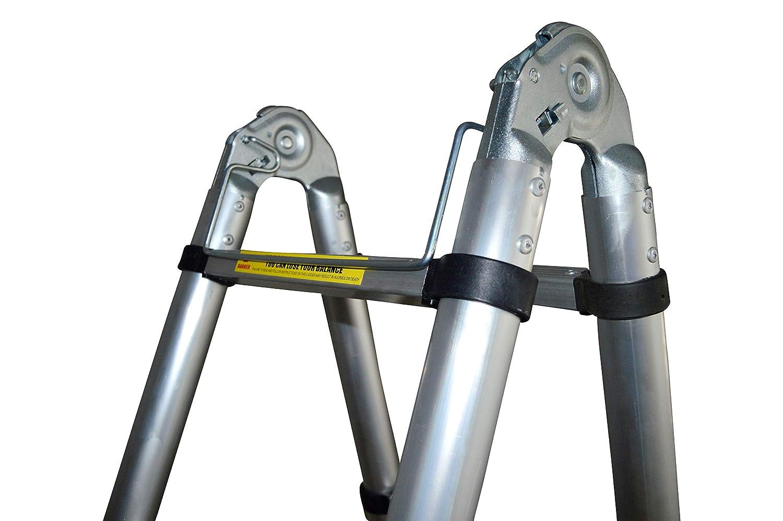 Teleskopleiter klappleiter ausziehbare leiter mehrzweckleiter