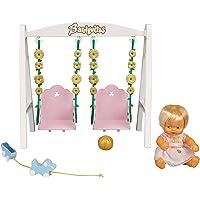 los Barriguitas - Columpio con Figura de muñeca bebé (Famosa 700016267)