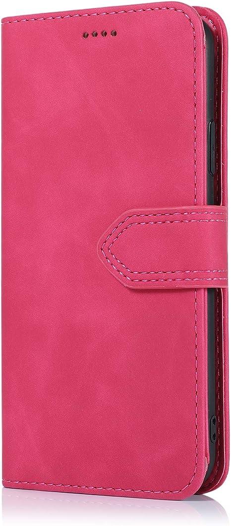 ARRYNN Cover per iPhone 11Rose Pelle Portafoglio Custodia iPhone