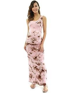 8d832f6fa2442 Jessica Simpson Rib Knit Maternity Dress Grey at Amazon Women's ...