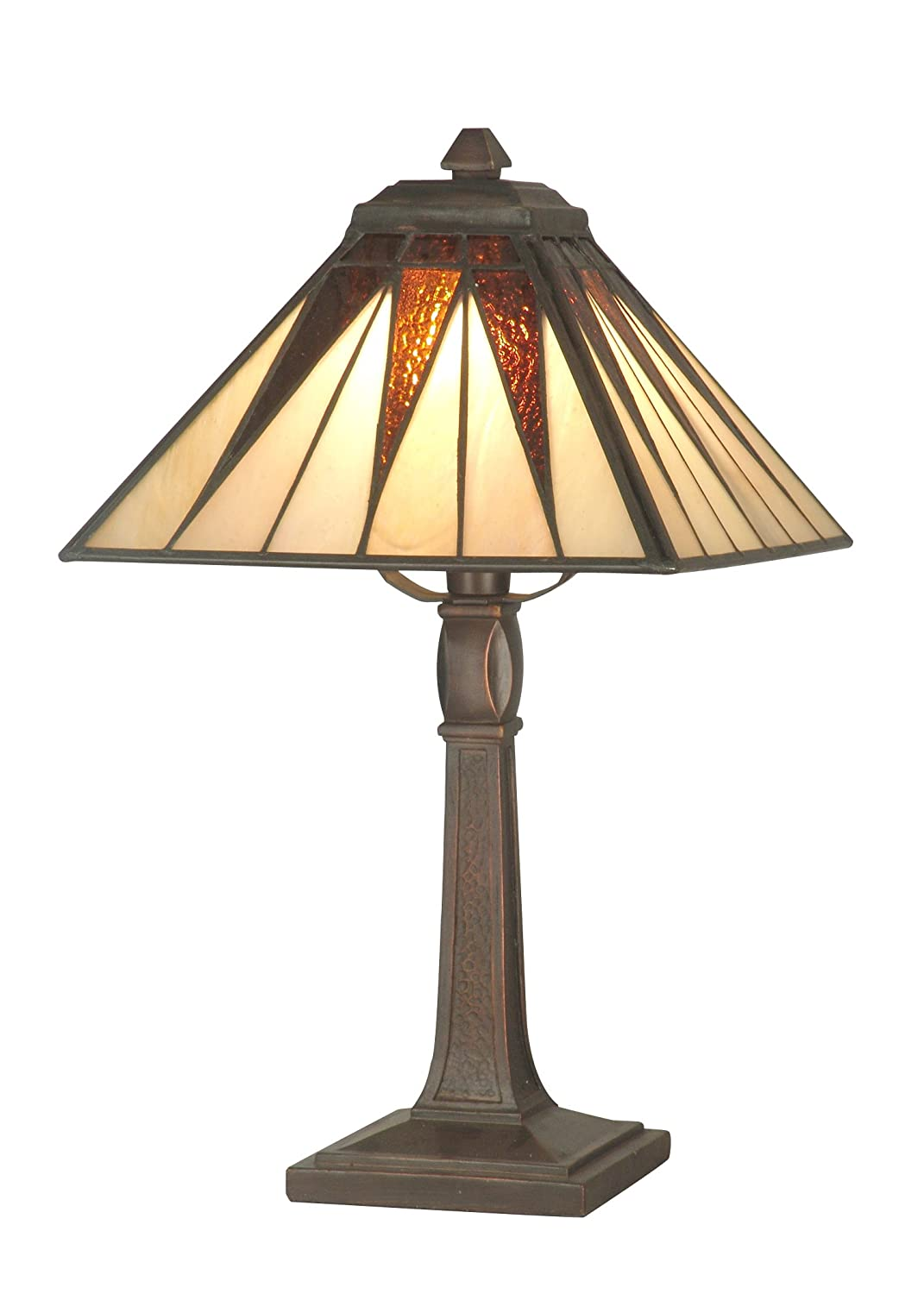 Dale tiffany ta70680 cooper accent lamp antique bronze and art dale tiffany ta70680 cooper accent lamp antique bronze and art glass shade table lamps amazon geotapseo Image collections