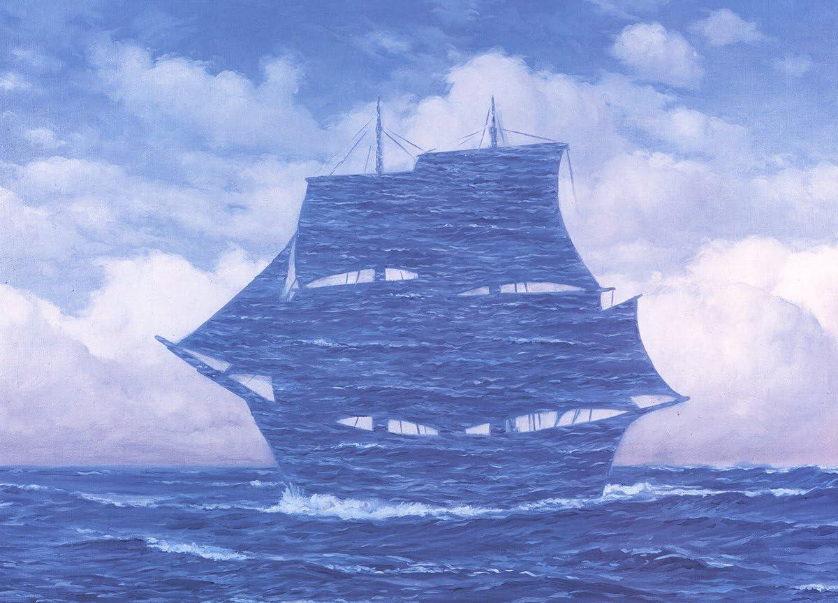 Rene Magritte-Le Seducteur-2009 Poster