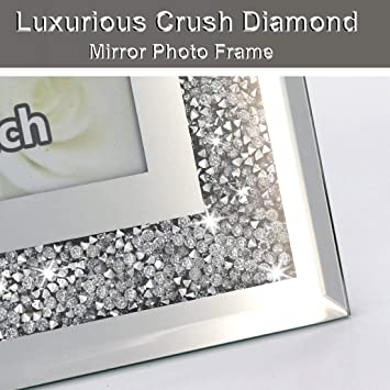 Details about  /Best Friend Sister Box Frame Picture Photo Art Glitter Fashion Diamonte Crystals