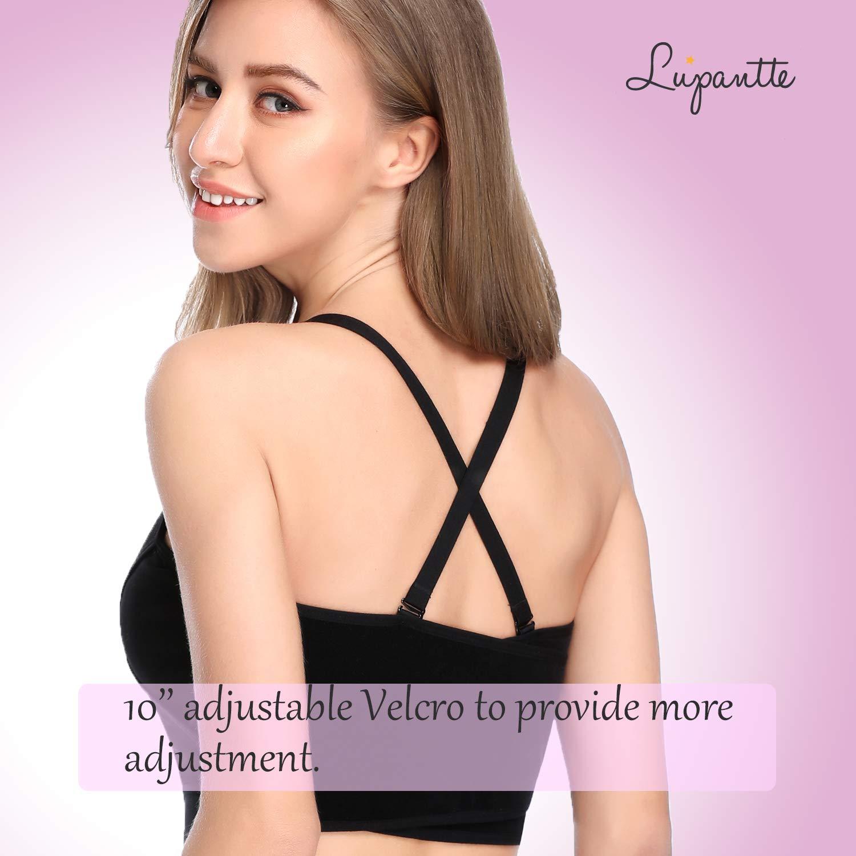 Hands Free Pumping /& Nursing Bra Bellababy,etc. Lansinoh Philips Avent Ameda Lupantte X Structure Breastfeeding Bra for Holding Breast Pumps Like Spectra Medium