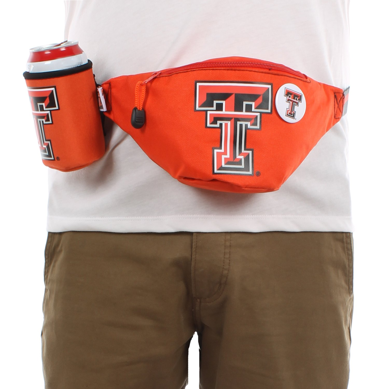 Texas Tech Red Raiders Fanny Pack w// TTU Drink Holder