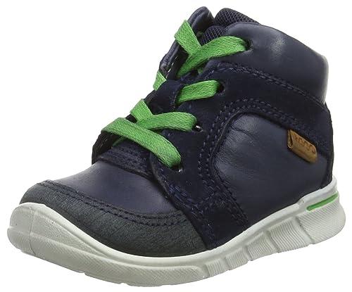Ecco First, Zapatillas para Bebés, Azul (Marine/White), 26 EU