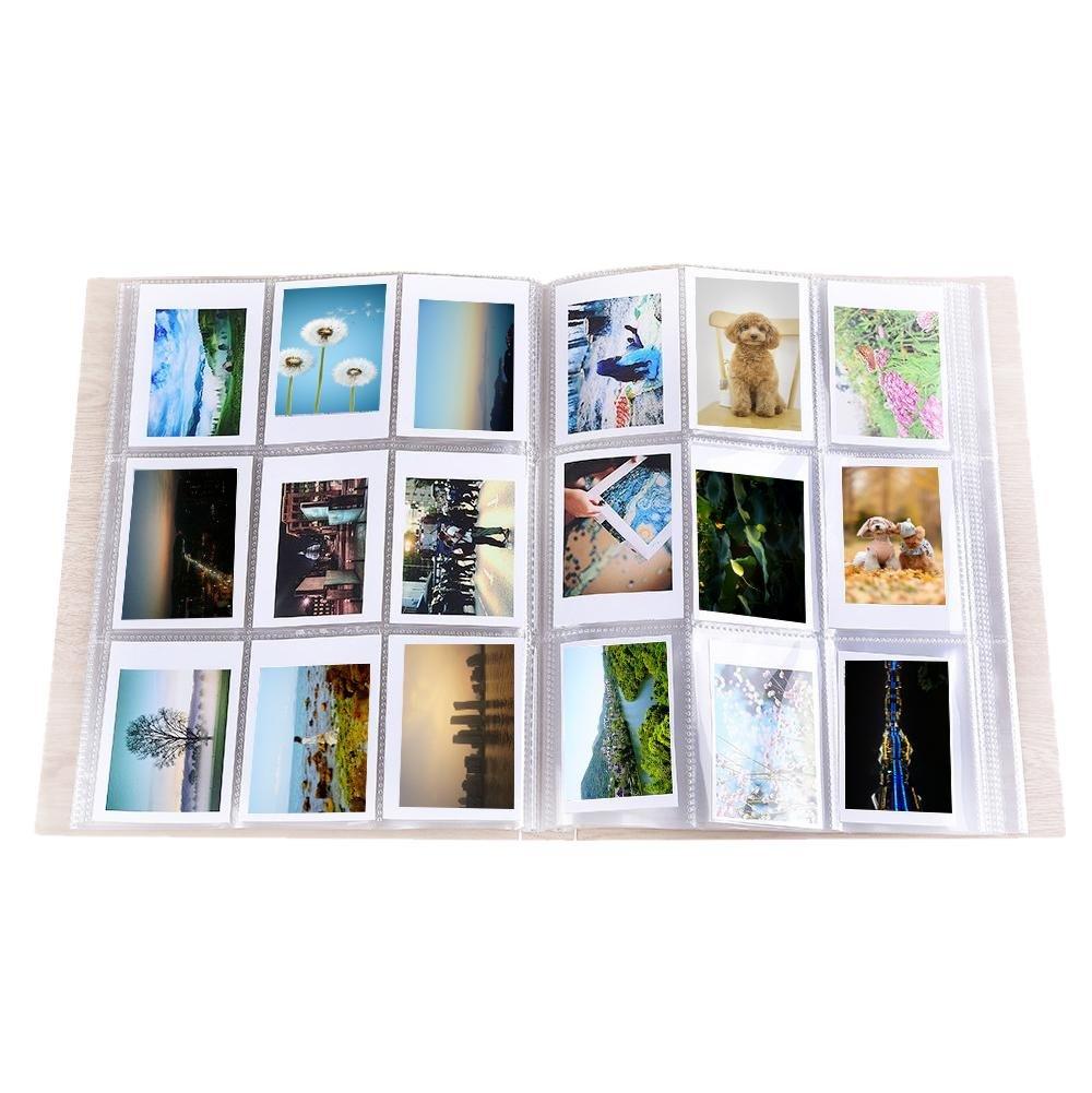 288 Pages/Pc Standard 3 Inch Hojas para Album de Cartas Color Transparente