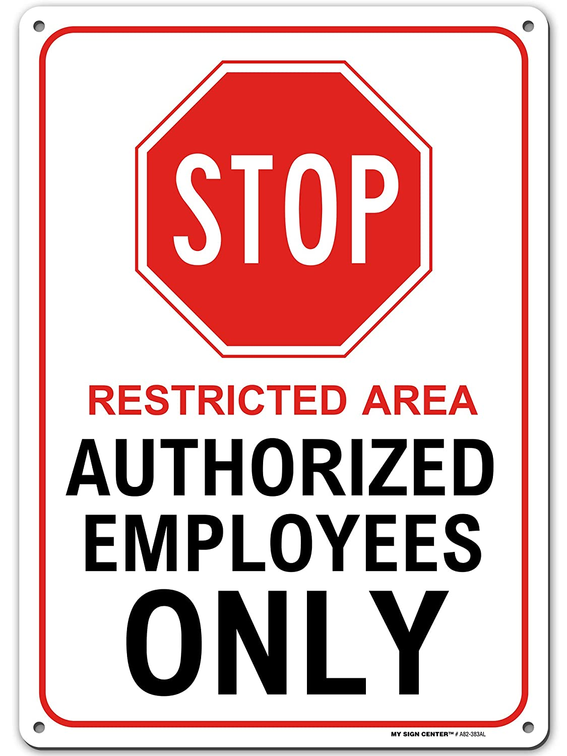 Personalized Stop Restricted Area Your Own Choice Words Customized Designs Hazard Aluminum Metal Sign Plate