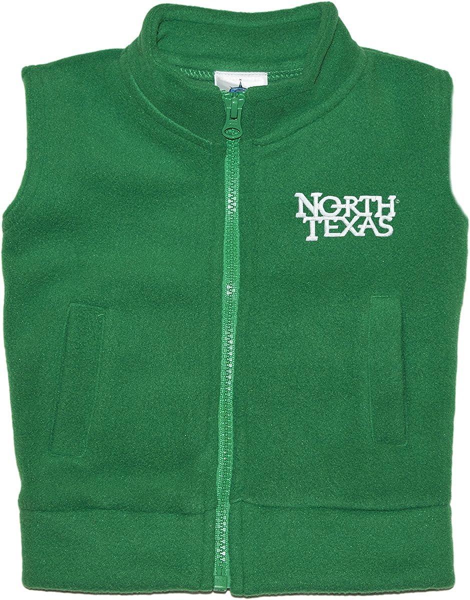 University of North Texas Mean Green Baby and Toddler Polar Fleece Vest