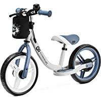 kk Kinderkraft Bicicleta sin Pedales SPACE, Sillín Ajustable, con Freno, Azul