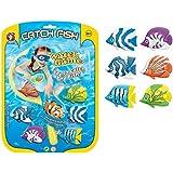 6 Pack Catch Fish Water Game Diving Game Children Swimming Fun Pool Games