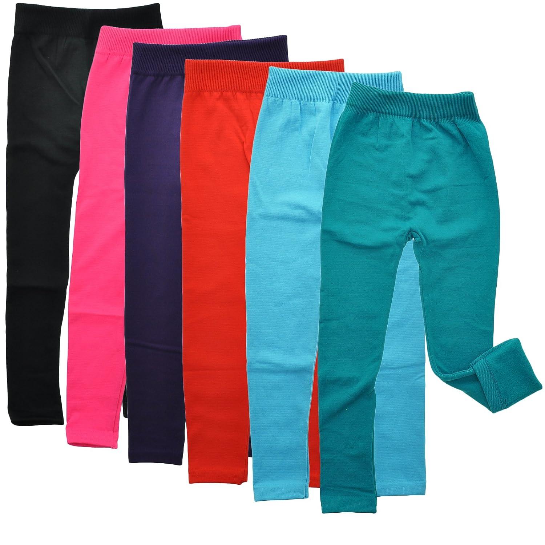 Amazon.com: Angelina 6-Pair, Assorted-Color-Pack Girls Fleece ...