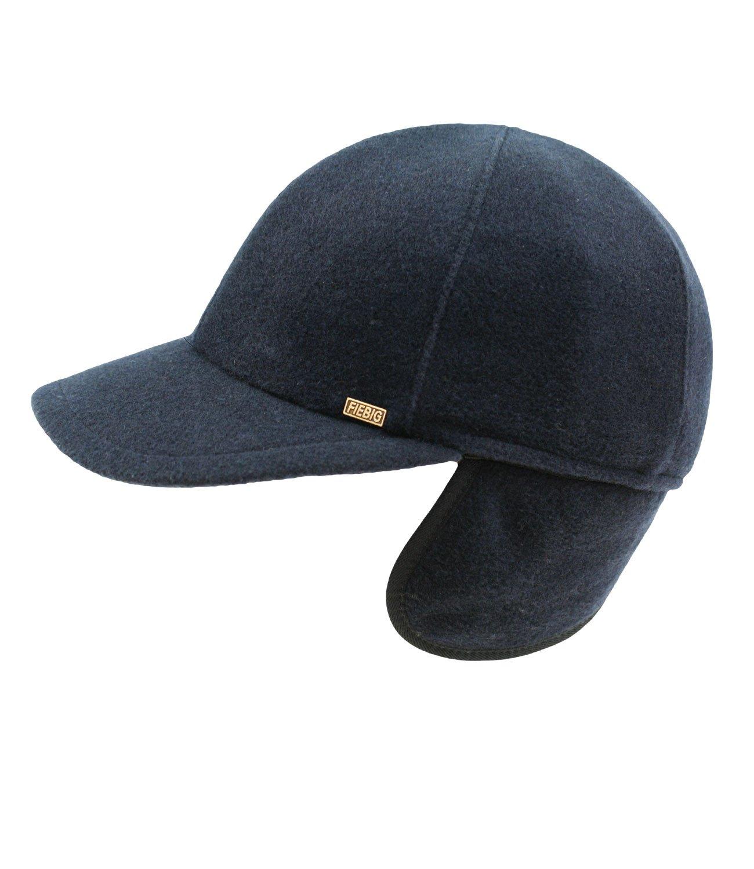 EveryHead Fiebig Jungenbasecap Basecap Baseballcap Schirmmütze Herbstmütze Cap Teflon Wasserabweisend mit Ohrenklappen für Kinder (FI-42449-W16-JU7) inkl Hutfibel
