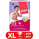 Bella Baby Happy Diapers - 46 Pieces (Extra Large, Pack of 6)