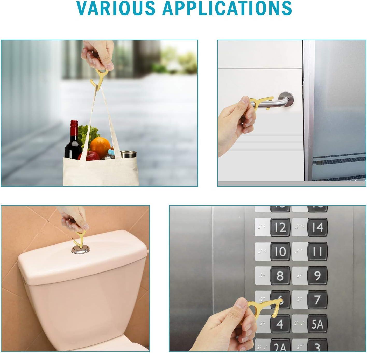 Amazon coupon code for No Touch Door Opener Non-Contact Door Clean Key