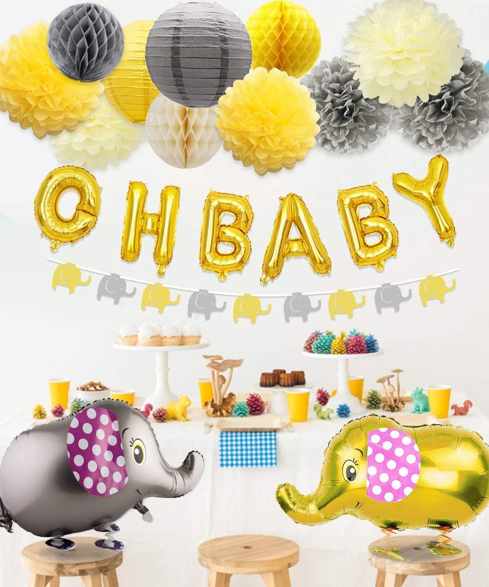 Amazon.com: Decoraciones de baby shower neutro para niño o ...