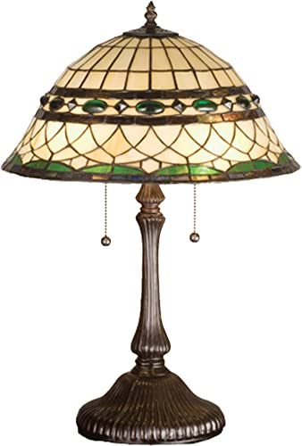 Meyda Home Indoor Decorative Lighting Accessories 26 H Nightfall Wisteria Table Lamp