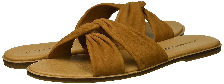 Lucky Brand Women's Dezzee Slide Sandal B077JJ8MPW 8.5 B(M) US|Sandy