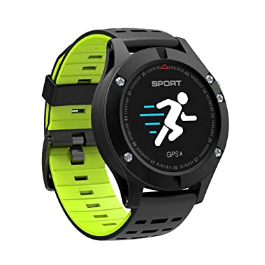 gzcrdz nueva nº 1 F5 GPS Smart reloj altímetro barómetro termómetro Bluetooth 4.2 Smartwatch Wearable dispositivos