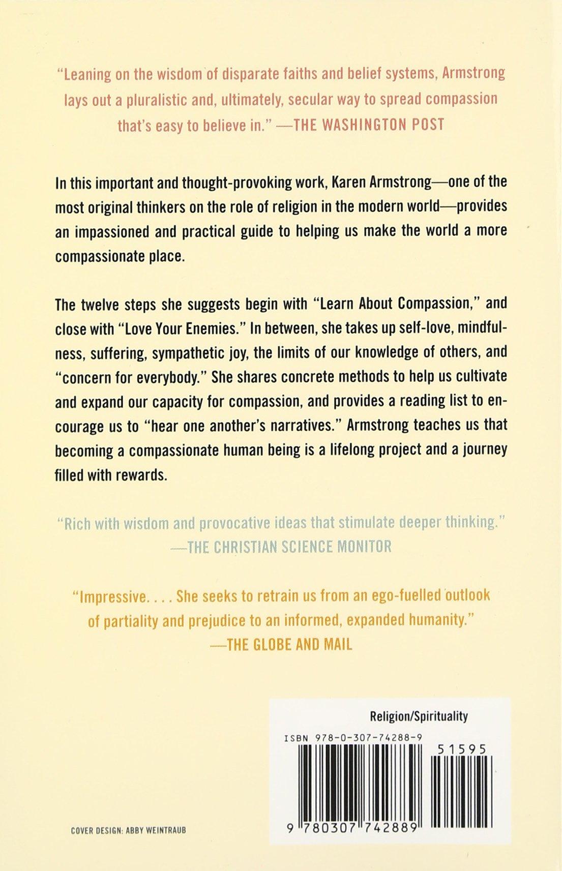 Twelve Steps To Apassionate Life: Karen Armstrong: 8601422186048:  Amazon: Books