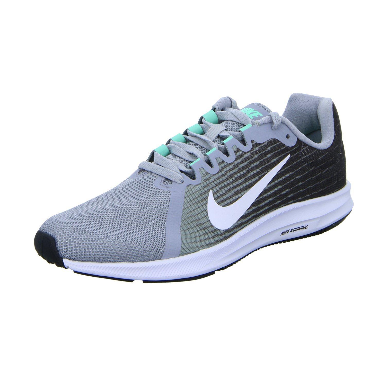 Nike Herren Downshifter 8 Laufschuhe  Anthracite/Speed Red Gunsmoke Black White 005 Grau