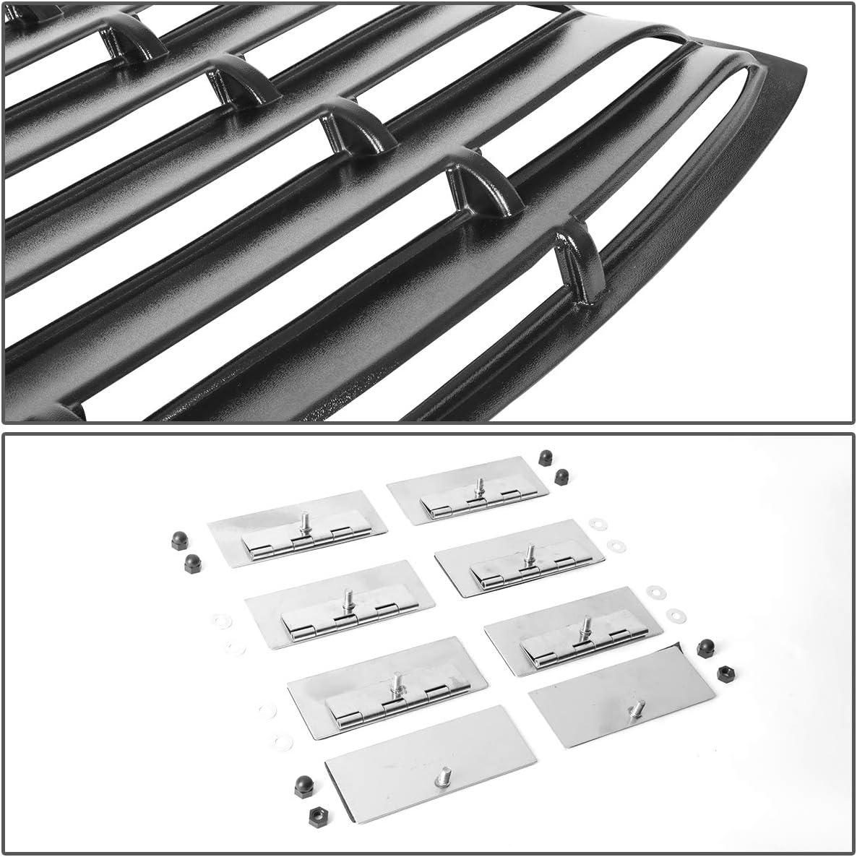 DNA MOTORING WINL-009 Rear Window Louver Windshield Sun Shade Cover