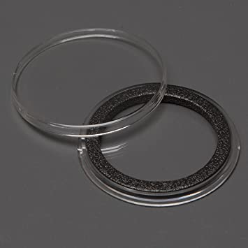 17mm AIR-TITE COIN HOLDER WITH BLACK RING